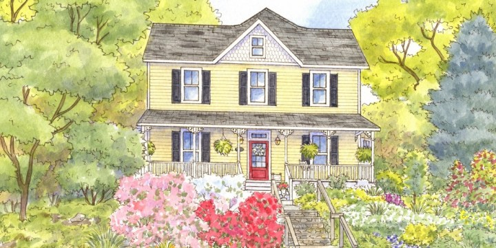 Spring Vibrance and Recent House Portraits