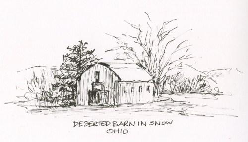 Barn in Snow, Ohio
