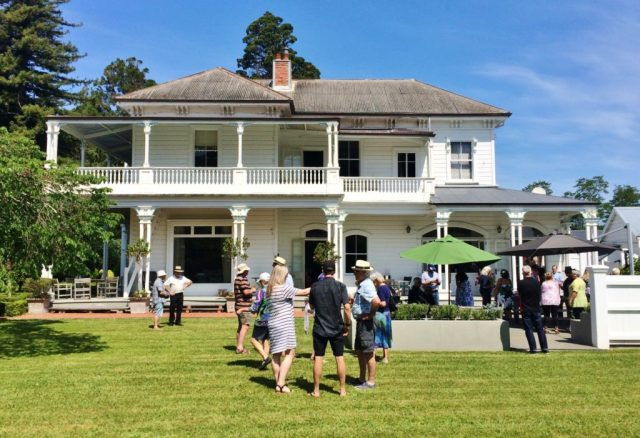 The beautiful Opou Station Homestead, a building that is listed on the NZ Heritage list, was built in 1883.