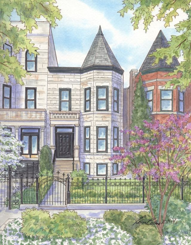 Classic Greystone Victorian in Lincoln Park, Chicago