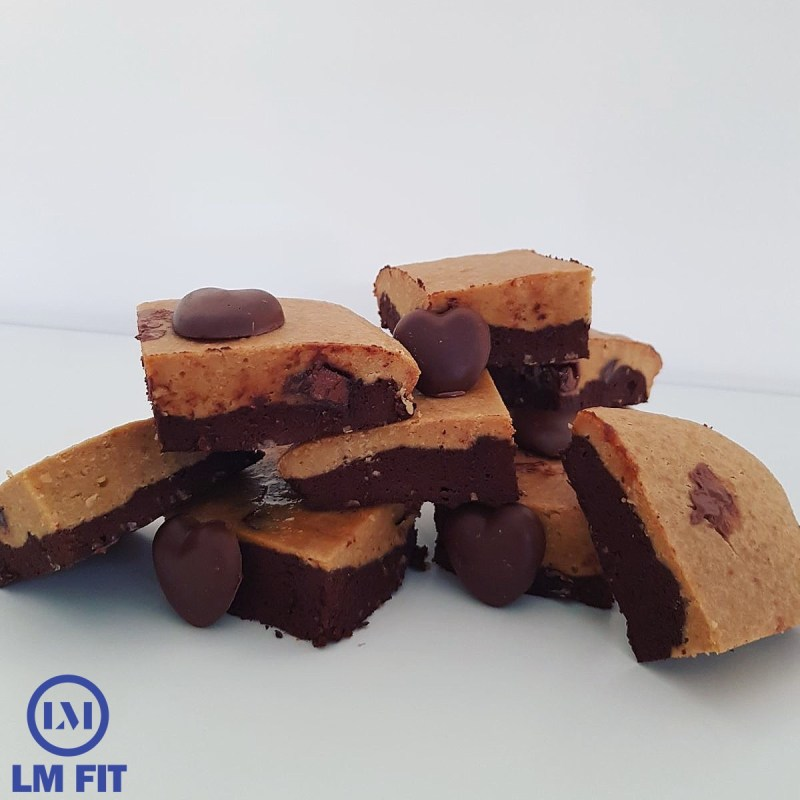 Protein Blondie Brownies