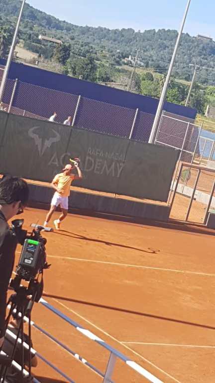 Rafael Nadal in seiner Academy 2018