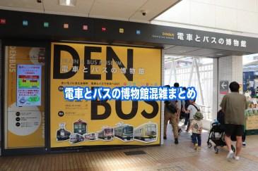 電車とバスの博物館 混雑