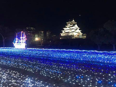 大阪城 イルミナージュ