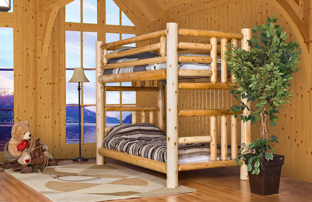 Log Bunk Bed Barrel Saunas Gazebos And Log Furniture And More For Western Canada
