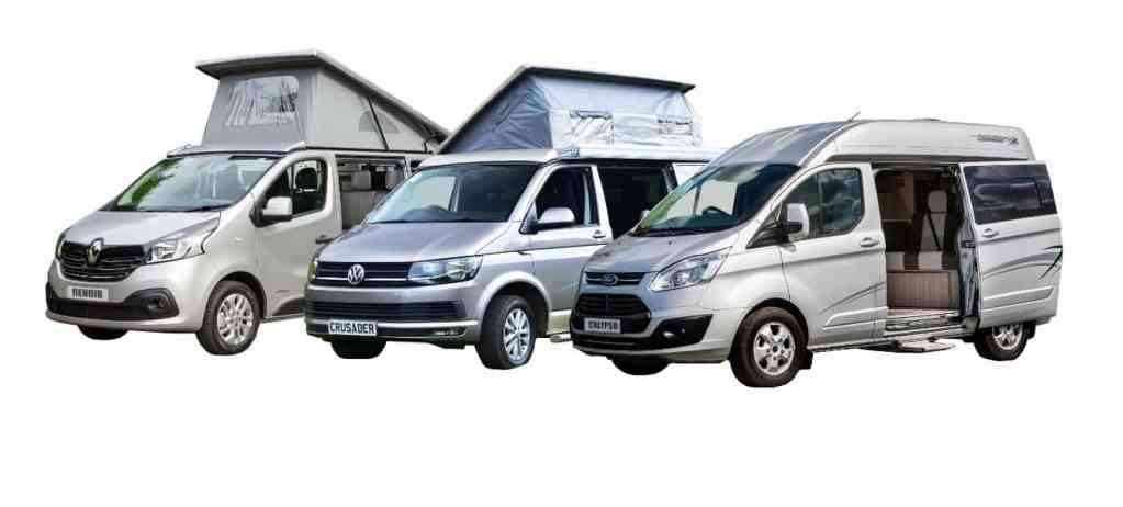 Our Campervan range, Our New Range