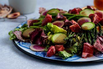 Blood Orange, Asparagus and Radish Salad