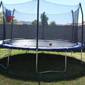 Leisure Installs Trampoline