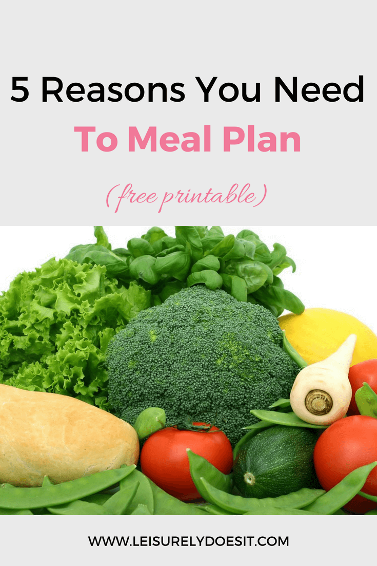 Meal planning has completely changed the way I approach cooking. See why you should create a meal plan and download the free printable.