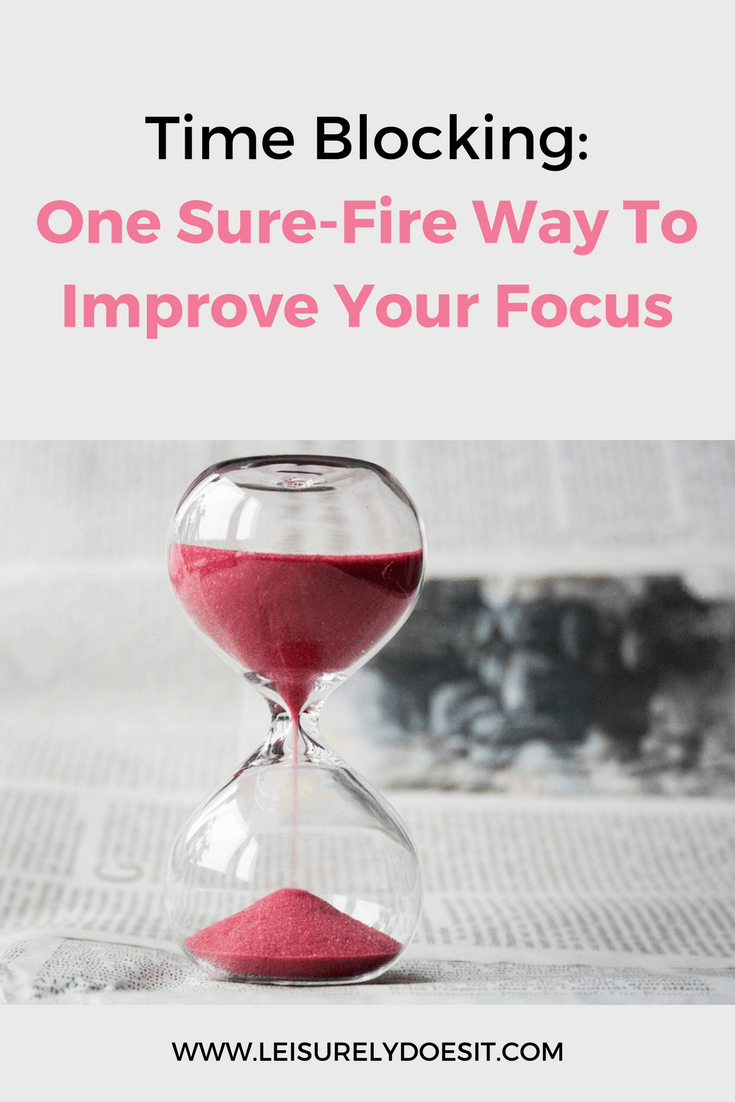 See how you can massively increase your focus using the simple technique called time blocking. It just requires 15-20 minutes to get great results.