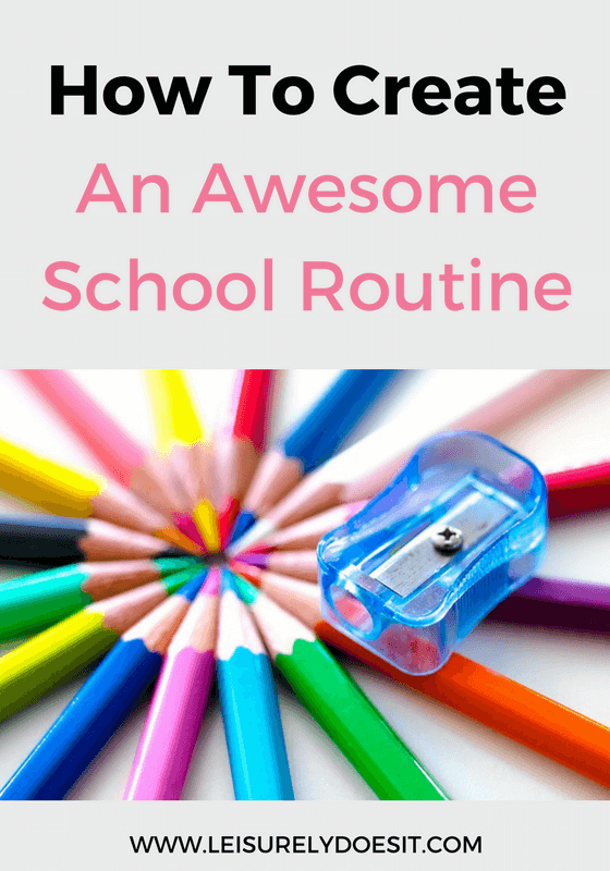 Back-to-school time can be hectic and stressful for both parents and children. Use these tips to create an awesome school routine that makes life easier.