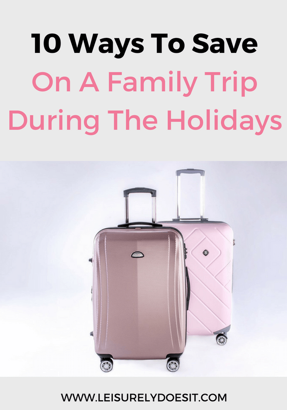 A family trip can be quite expensive, if you don't plan carefully. Use these ten tips to save money on your holiday travel plans.