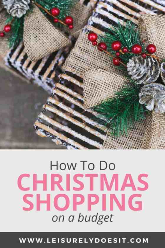 How To Save And Do Christmas Shopping On A Budget With Ebates