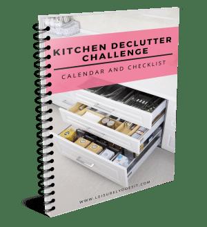 Superieur 2018 Kitchen Declutter Challenge Calendar And Checklist