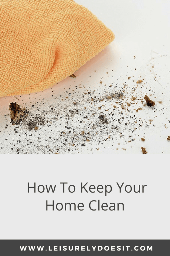 daily cleaning schedule how to keep your home clean