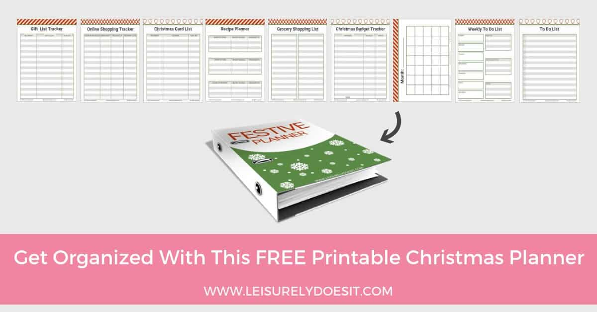 photo regarding Christmas Planner Printable identified as How In the direction of Generate A Festive Planner with Cost-free Xmas Planner