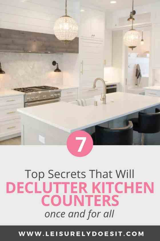 7 Top Kitchen Counter Organization Tips You Need To Know