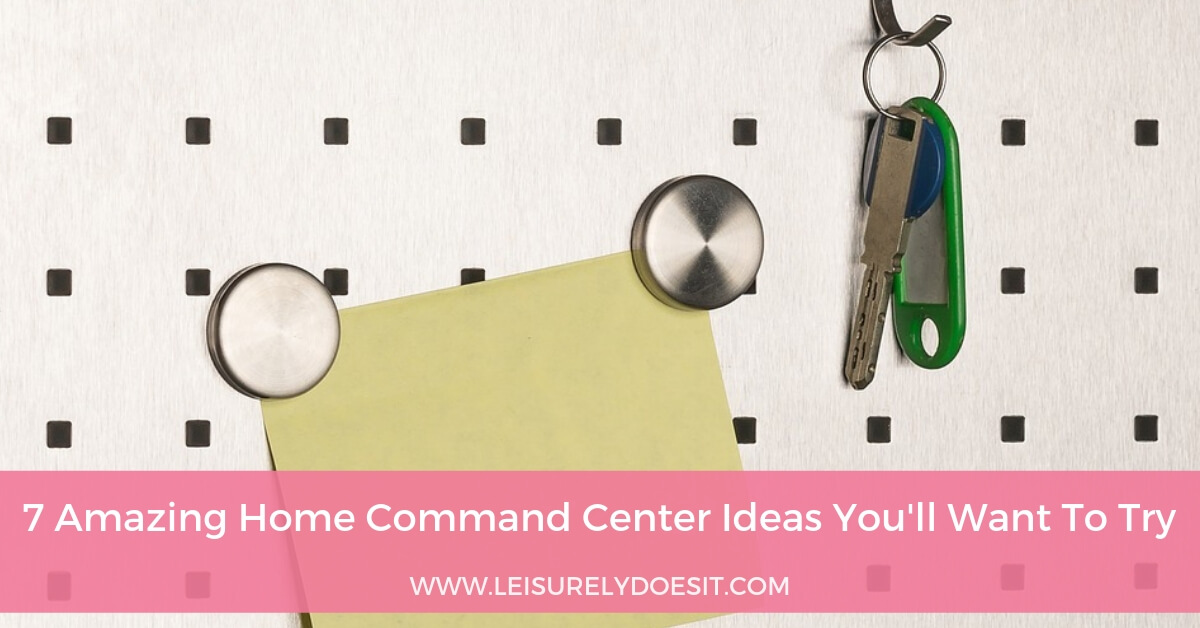 7 Amazing Home Command Center Ideas Youll Want To Try