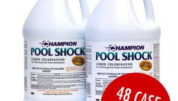 Commercial Grade Liquid Chlorine | Pool Shock - Case - Ready