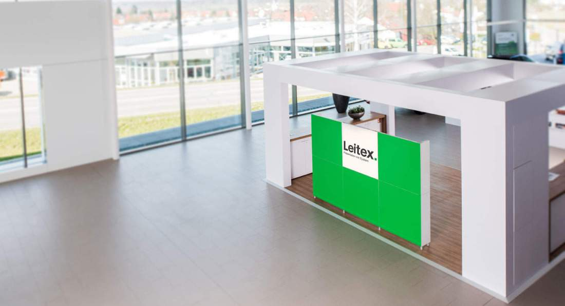 mobiler messestand leitex