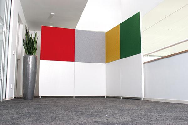beste akustik und klare raumgestaltung trennw nde berzeugen nicht nur im b ro leitex. Black Bedroom Furniture Sets. Home Design Ideas