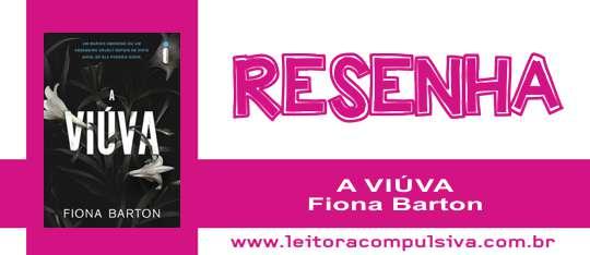 A Viúva, de Fiona Barton #Resenha
