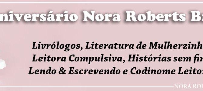 Sorteio de Aniversário do Nora Roberts Brasil
