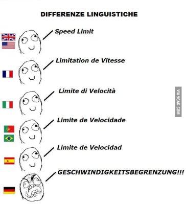 Comme l'allemand