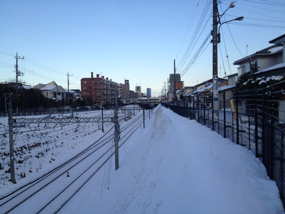 Sous la neige - Hachioji