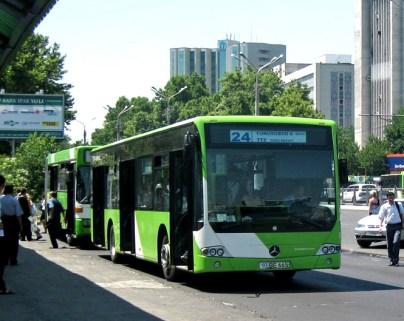 Un bus de Tachkent
