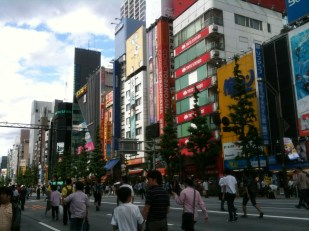 Rue principale Akihabara 2012