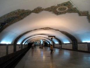 Station de métro de Tachkent http://eurasia.travel/uzbekistan/cities/tashkent_city/walk_through_modern_tashkent/metro/