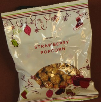 Pop corn parfum … fraise