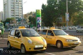 Taxi officiel (http://fotopages.uz/en/catalog/taxi/toshshakhartranskhizma)