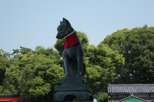 Kitsune - le renard messager du dieu Inari