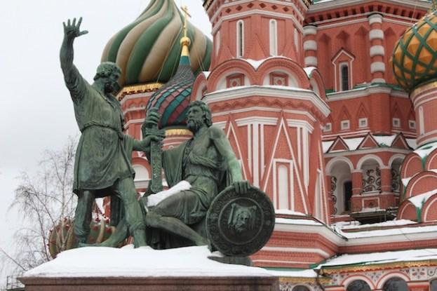 Moscou - près du Kremlin