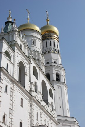 Dans l'enceinte du Kremlin