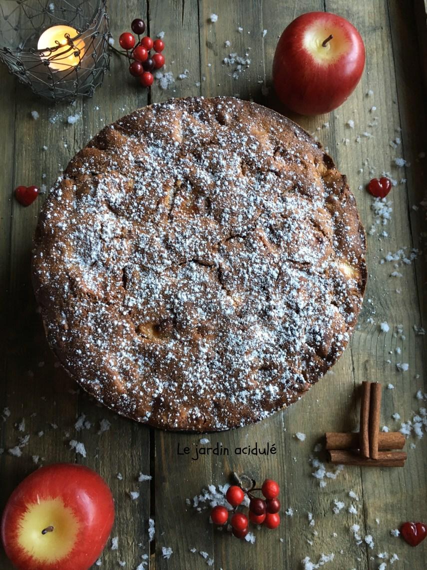 Spiced apple cake - gâteau aux pommes et aux épices