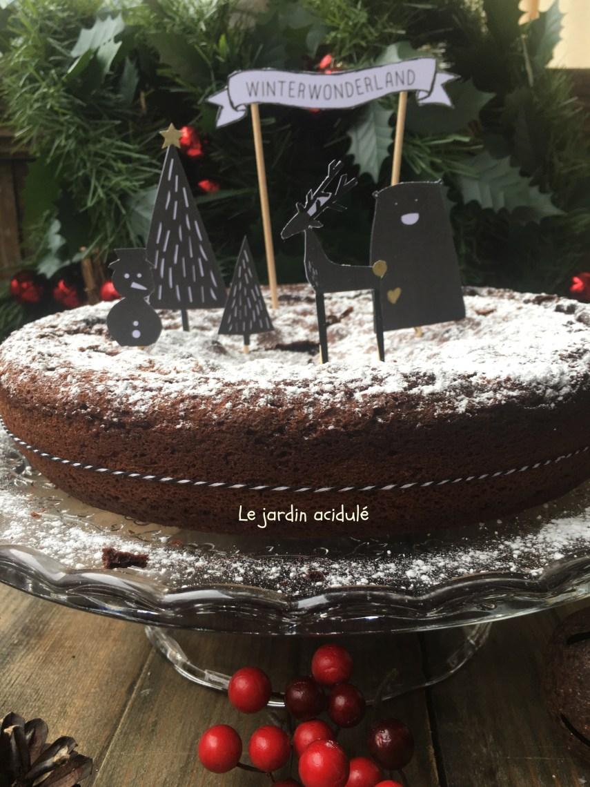 Gâteau chocolat moelleux 2