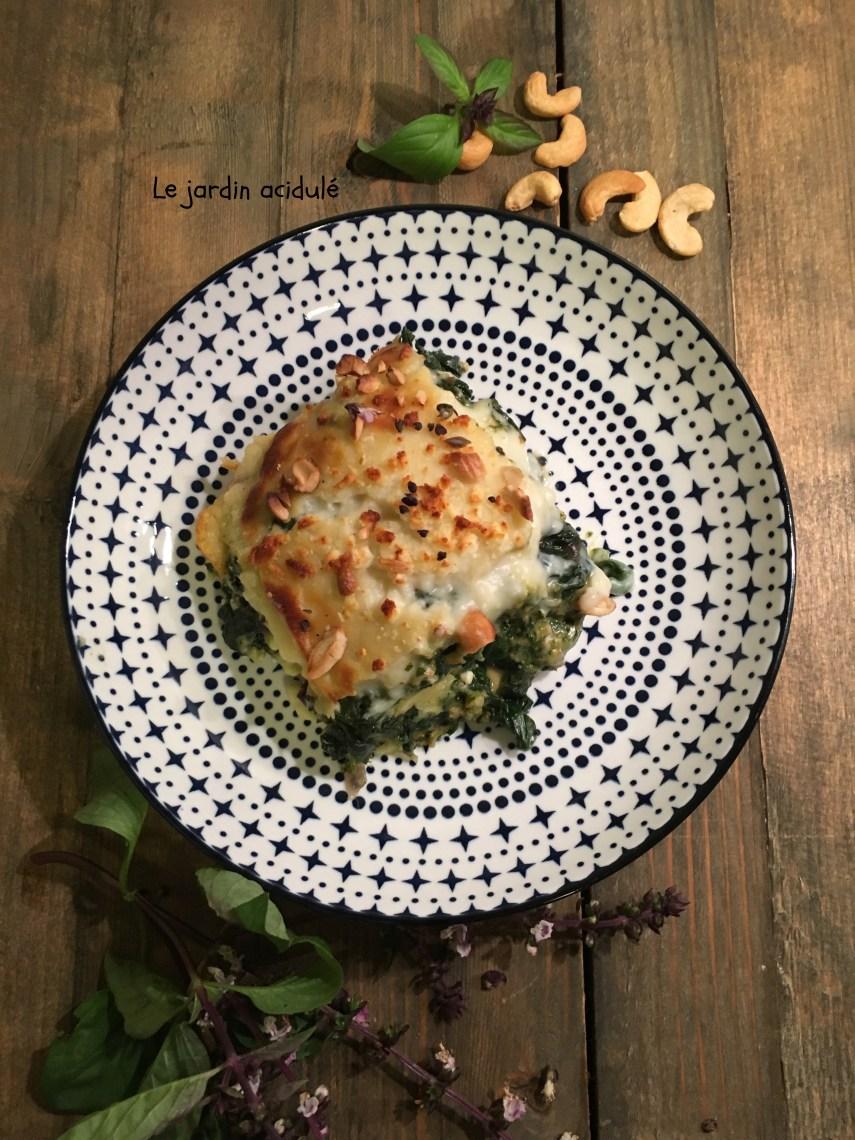 lasagnes épinards 7