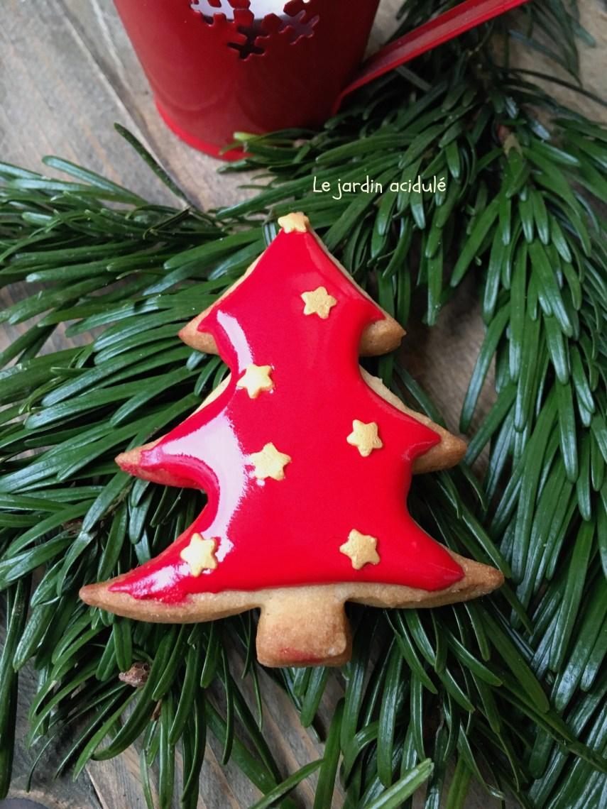Biscuits de Noël sapin