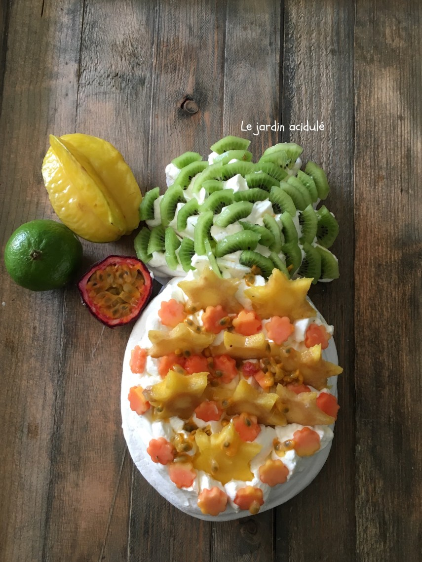 Pavlova tutti frutti