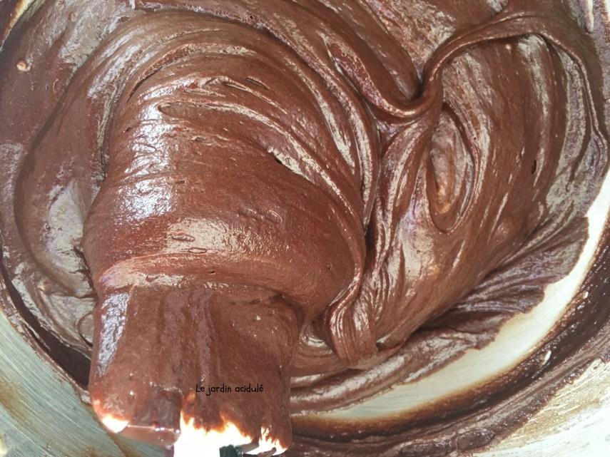 Gâteau chocolat meringué 3