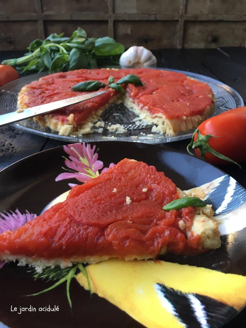 Tarte tatin à la tomate 10