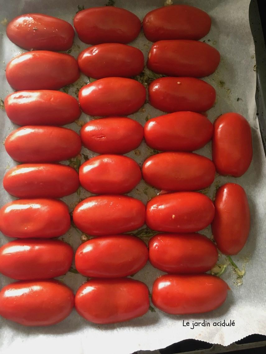 Tarte tatin à la tomate 4