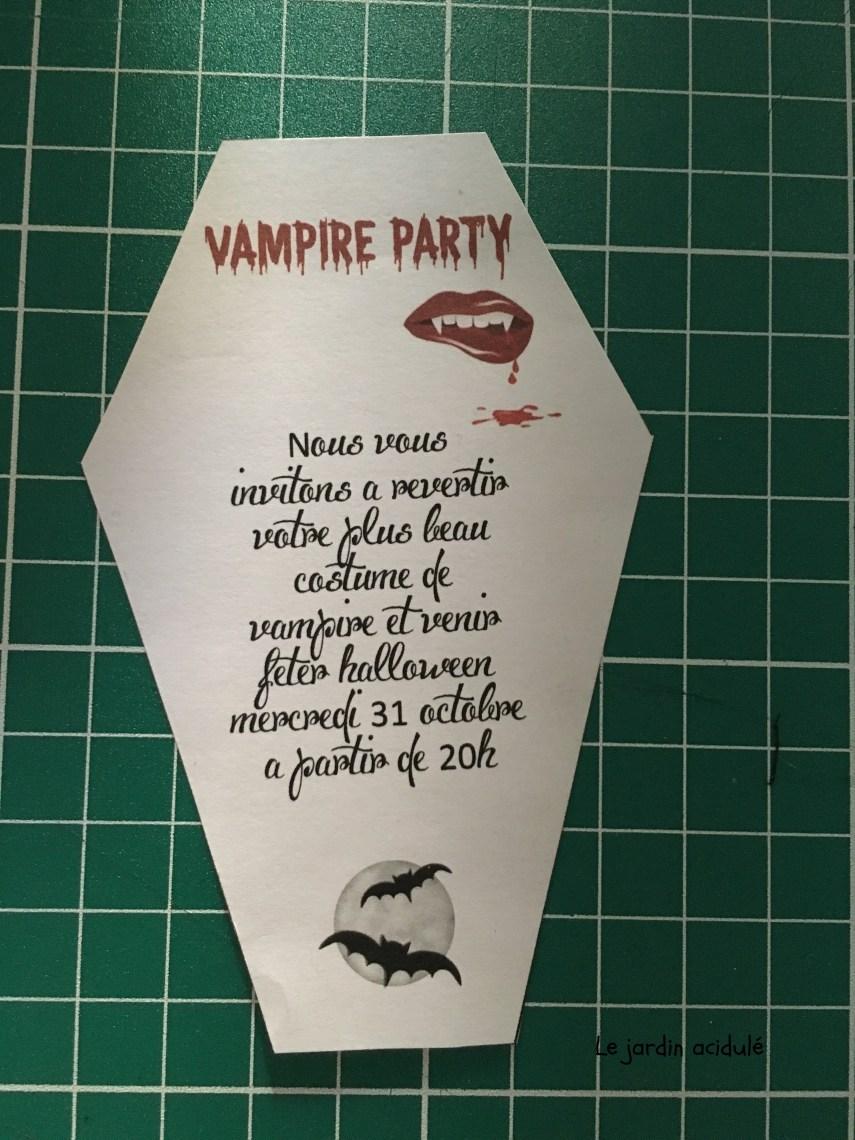Invitation vampire