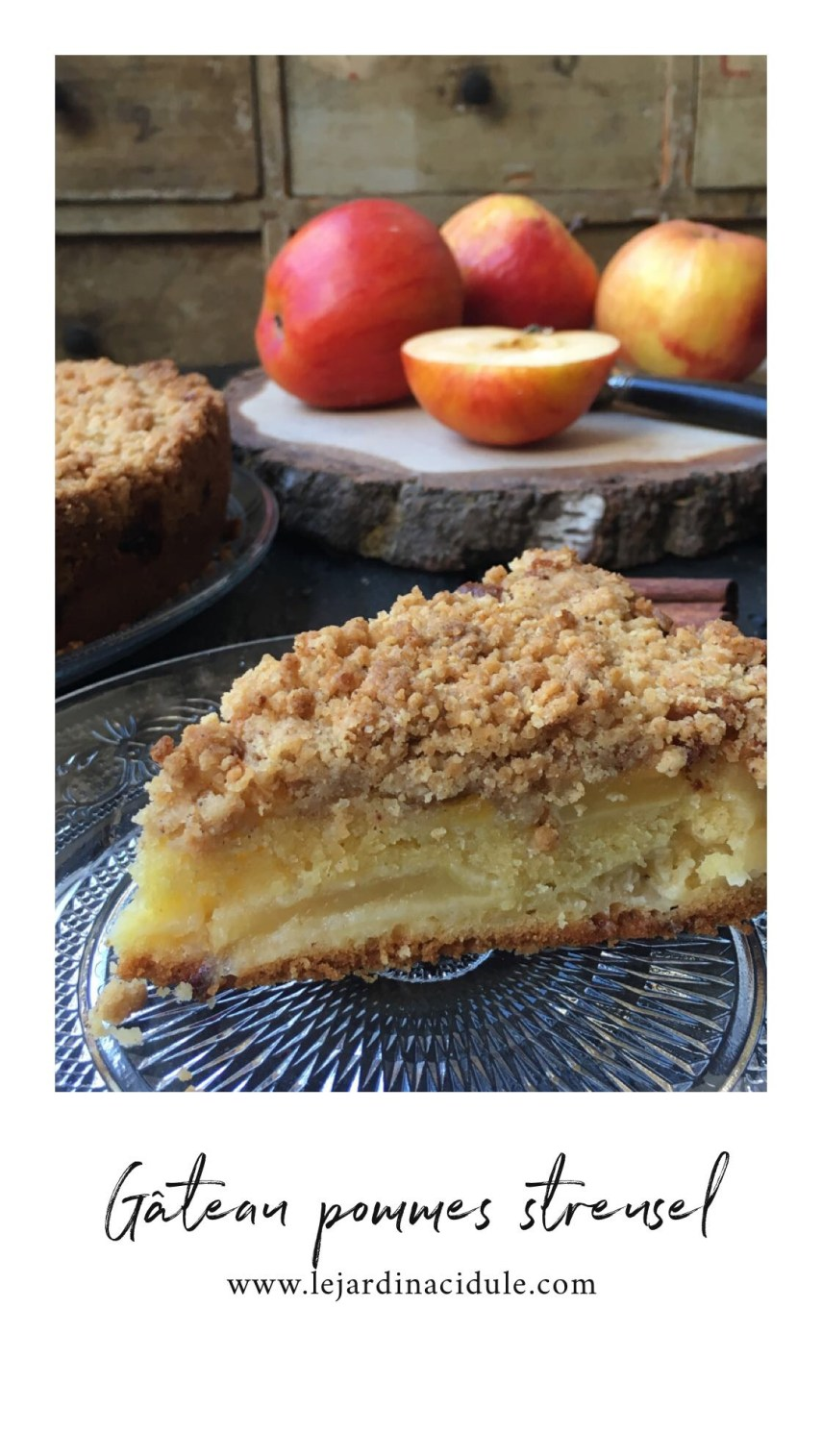 Gâteau aux pommes Steusel