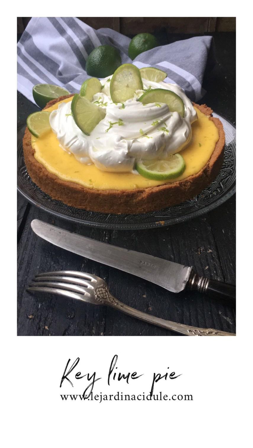 La vraie key lime pie américaine