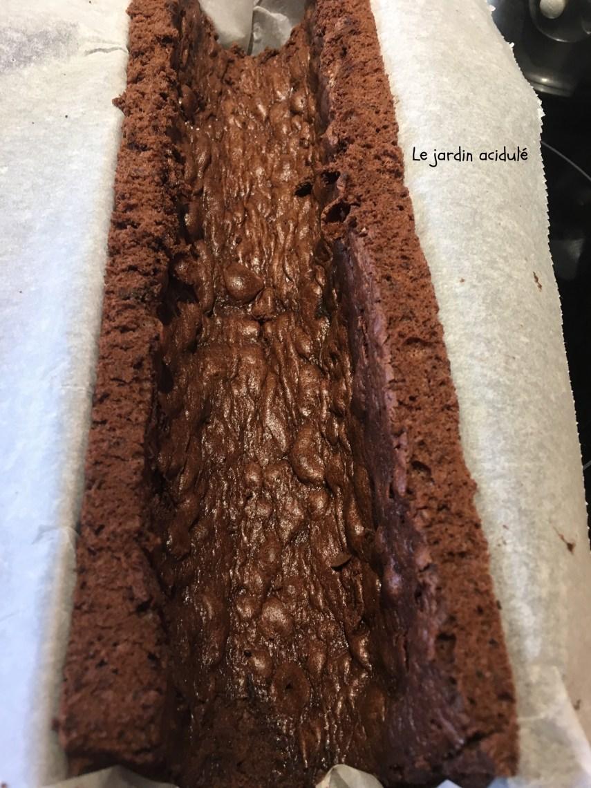 génoise chocolat