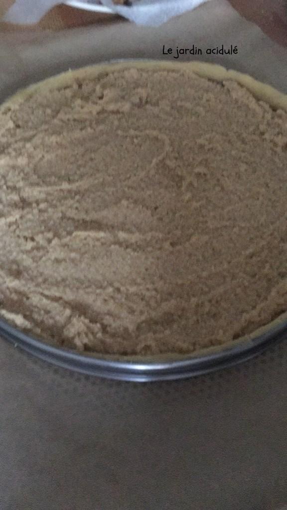 Tarte bourdaloue à la crème de marrons